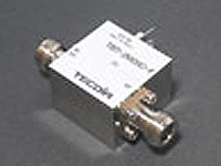 Tecdia bias-T with an intrinsic impedance of 75Ω (TBT-2M20C-F shown)